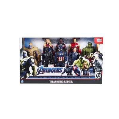 Marvel Avengers Titan Heroes Collection Pack