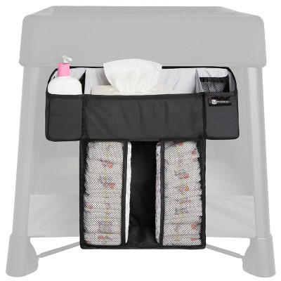 4moms breeze Diaper Caddy - Black