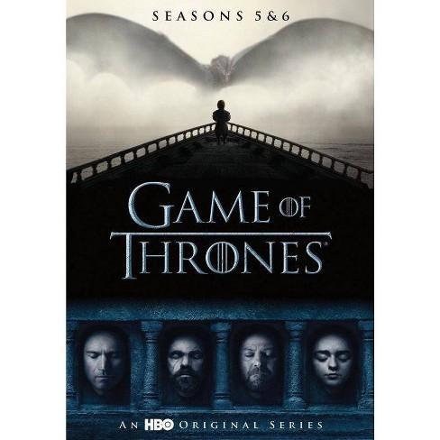 Game Of Thrones Seasons 5 6 Dvd 2019 Target