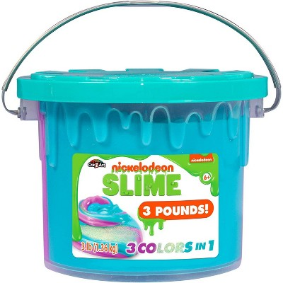 Nickelodeon Slime 3lb Bucket - Colors May Vary