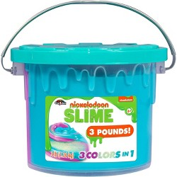Nickelodeon Slime 3lb Bucket - Colors May Vary
