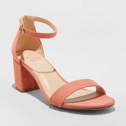 Women's Michaela Mid Block Heel Sandal Pumps - A New Day™