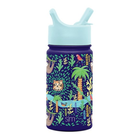Simple Modern 14oz Stainless Steel Jungle Summit Water Bottle Green - image 1 of 3