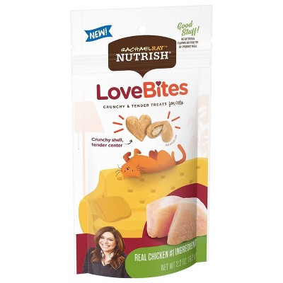 Rachael Ray Nutrish LoveBites Chicken Crunchy Cat Treats