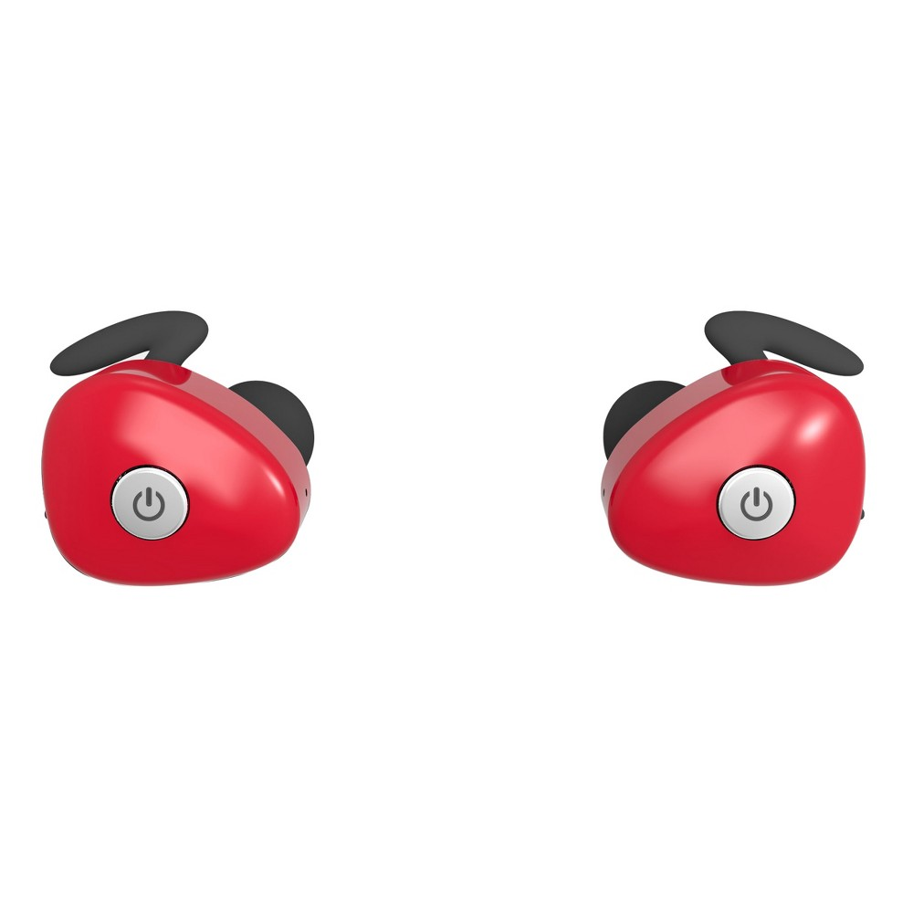 Bem Wireless NKD50 Earbuds - Red