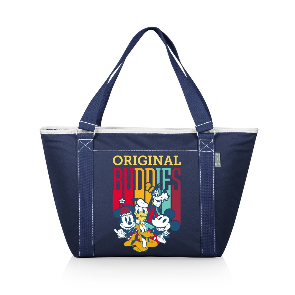 Picnic Time Disney Mickey Mouse 38 Friends Topanga Tote Cooler Bag Navy Blue
