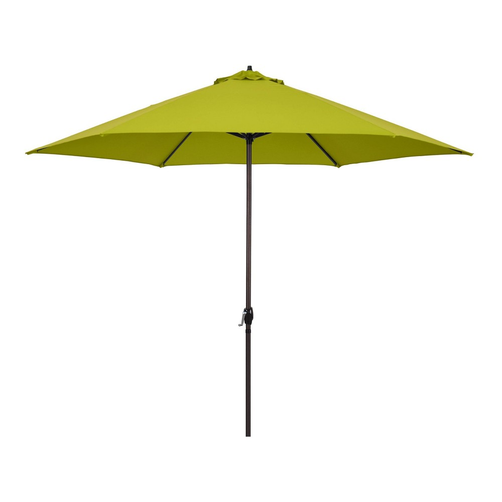 Image of 11' Patio Umbrella - Aluminum Pole with Crank Lift Lime Green - Astella, Green Green