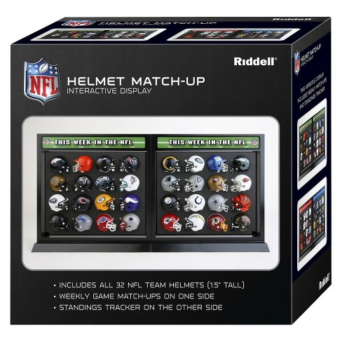 NFL Riddell Helmet Matchup Set (32 piece) - image 1 of 1