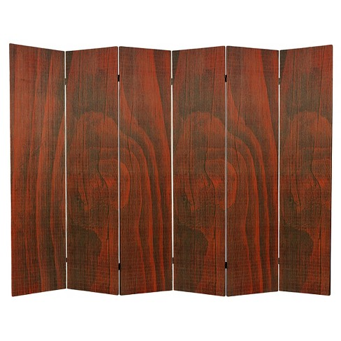 6 ft. Tall Frameless Bamboo Room Divider - Oriental Furniture - image 1 of 1