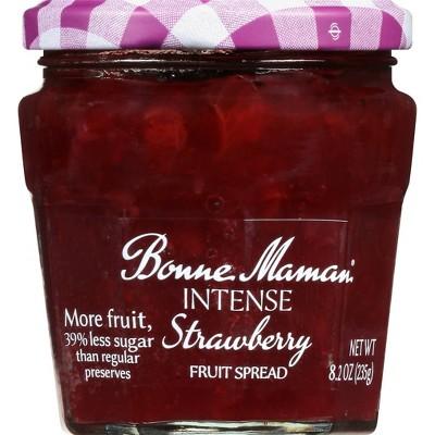 Bonne Maman Intense Strawberry Fruit Spread - 8.2oz