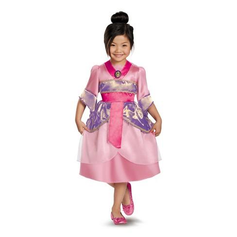 Girls Disney Princess Mulan Classic Halloween Costume Target