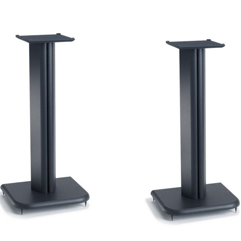 "Sanus BF24 24"" Basic Foundations Speaker Stands - Pair (Black) - image 1 of 2"