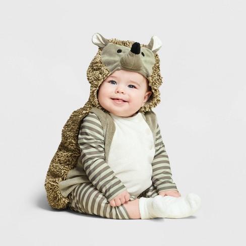 Baby Plush Hedgehog Halloween Costume Vest - Hyde & EEK! Boutique™ - image 1 of 1