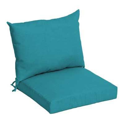 Arden Selections Outdoor Dining Chair Cushion Set Leala Texture