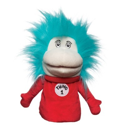 Manhattan Toy Dr. Seuss Thing 1 and Thing 2 Hand Puppets