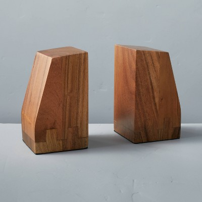 Set of 2 Wedge Bookends - Hearth & Hand™ with Magnolia