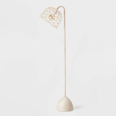 Rattan Floor Lamp Natural - Pillowfort™