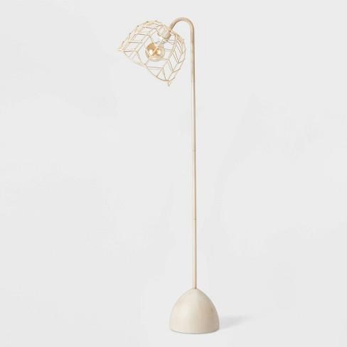 Rattan Floor Lamp Natural - Pillowfort™ - image 1 of 4