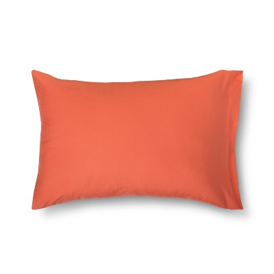 Solid Microfiber Pillowcase (Standard)Georgia Peach - Room Essentials™