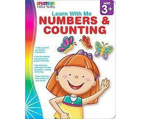 Learn With Me: Numbers & Counting (Paperback) - image 1 of 1