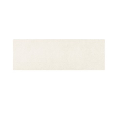 24 X72 Marshmallow Memory Bath Rug Ivory Target