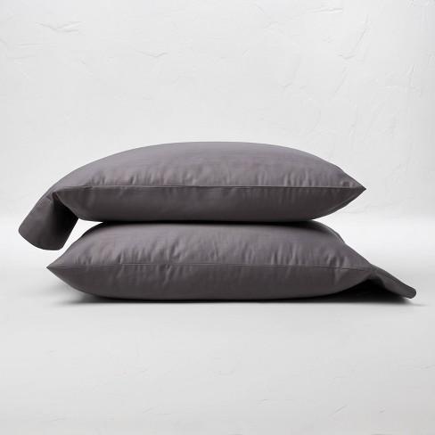 300 Thread Count Temperature Regulating Solid Pillowcase Set - Casaluna™ - image 1 of 4