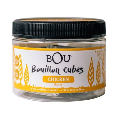 Bou Brands Bouillon Cube Chicken - 2.53oz