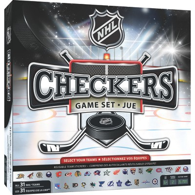 MasterPieces NHL Full League Version Checkers Board Game
