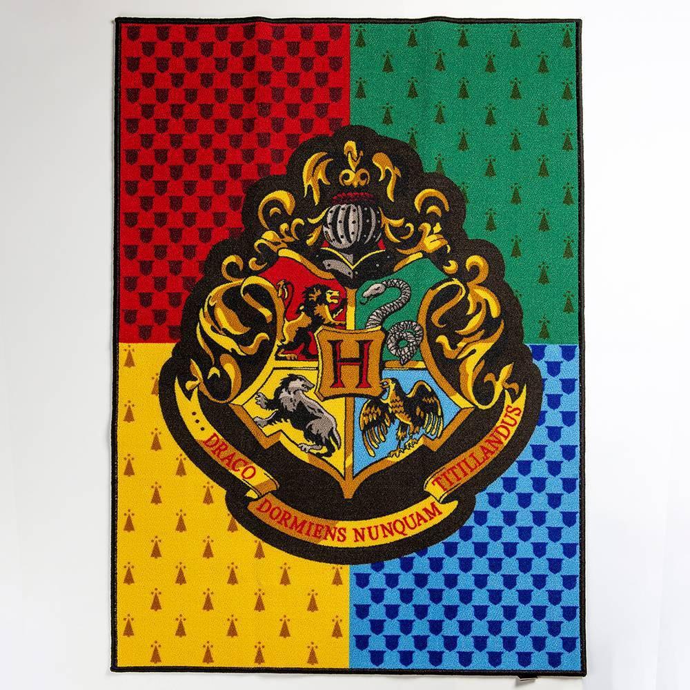 """Image of """"Harry Potter 39""""""""x54"""""""" Hogwarts Crest Rug"""""""