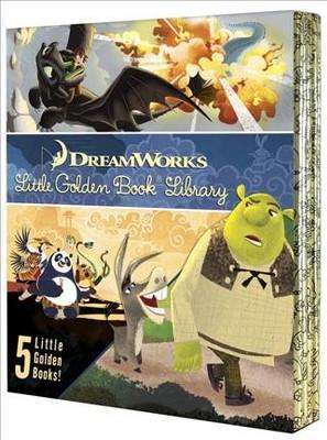 Dreamworks Little Golden Book Library (Hardcover)