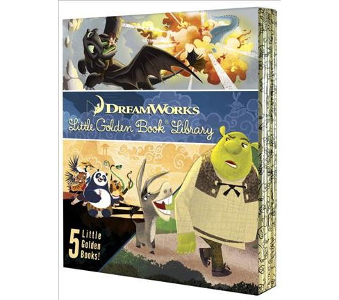 Dreamworks Little Golden Book Library (Hardcover) - image 1 of 1