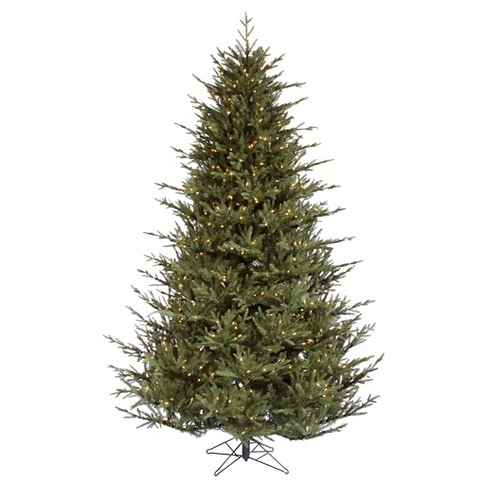 4.5ft Pre-Lit Artificial Christmas Tree Itasca Frasier - Clear Lights - image 1 of 1