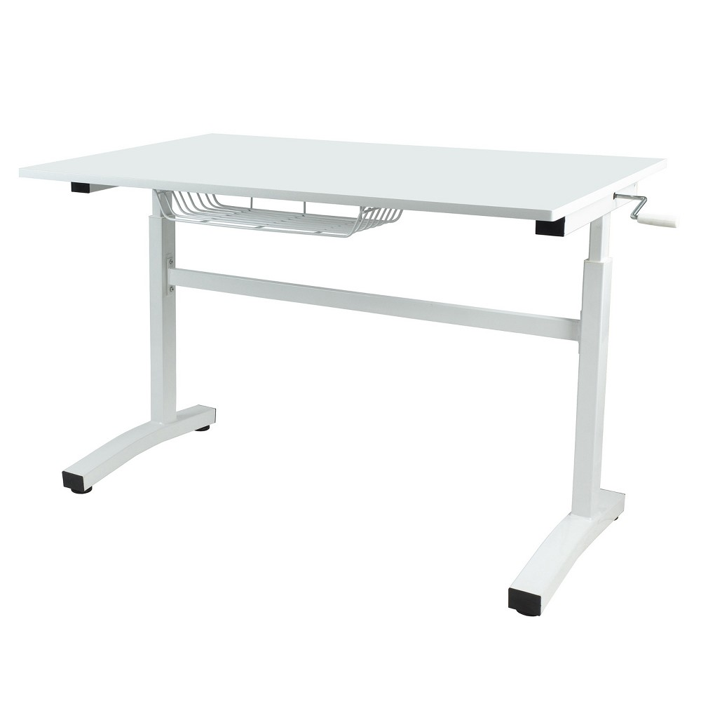 Sit Stand Desk White - Urb Space