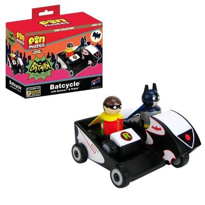 Batman TV Series Batcycle with Batman and Robin Pin Mates (SDCC 2020 Debut)