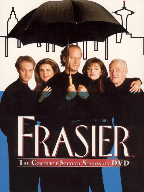 Frasier: The Complete Second Season (4 Discs) (dvd_video) - image 1 of 1