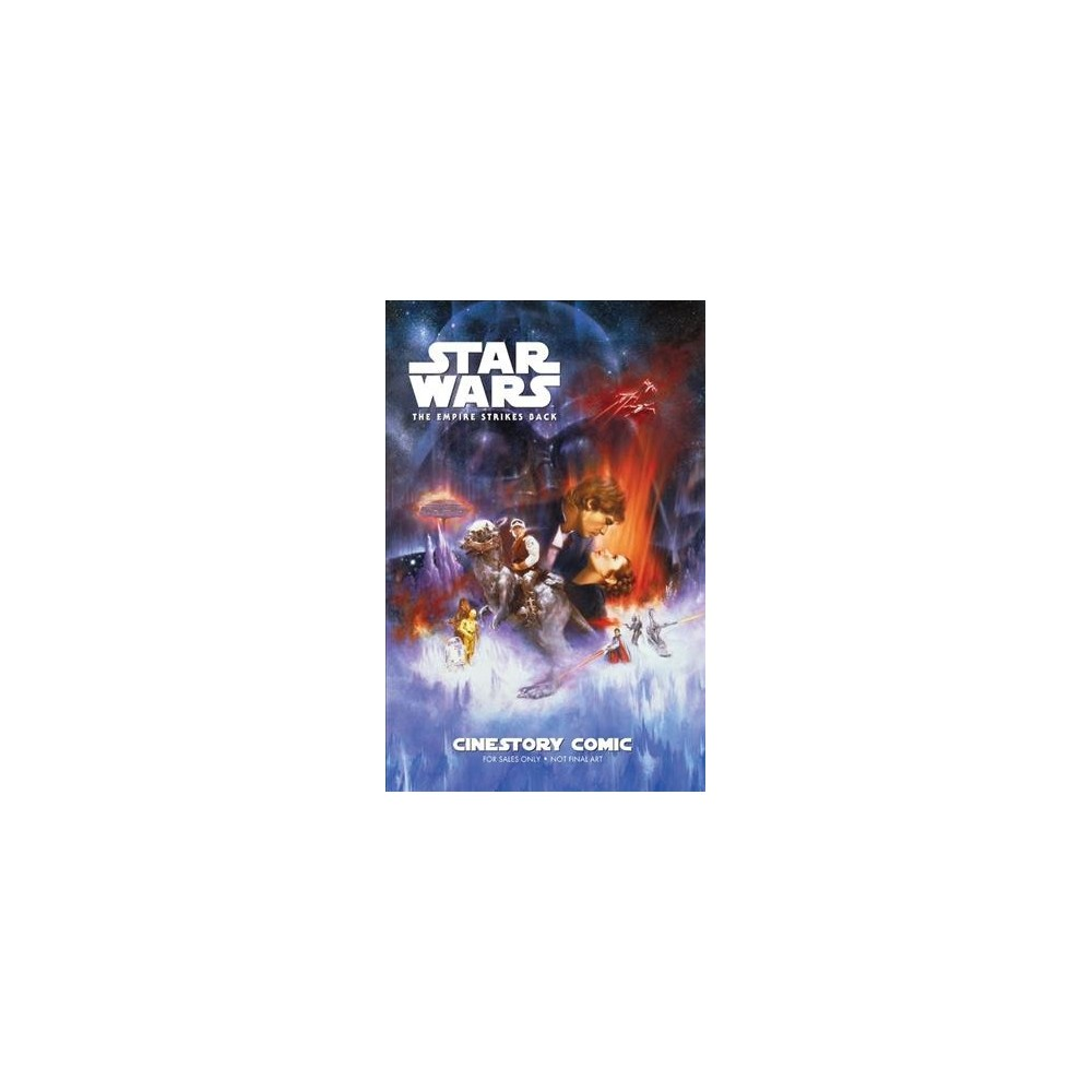 Star Wars - the Empire Strikes Back Cinestory Comic - Collectors (Hardcover)