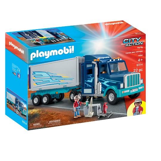 Playmobil Big Rig, mini figures image number null