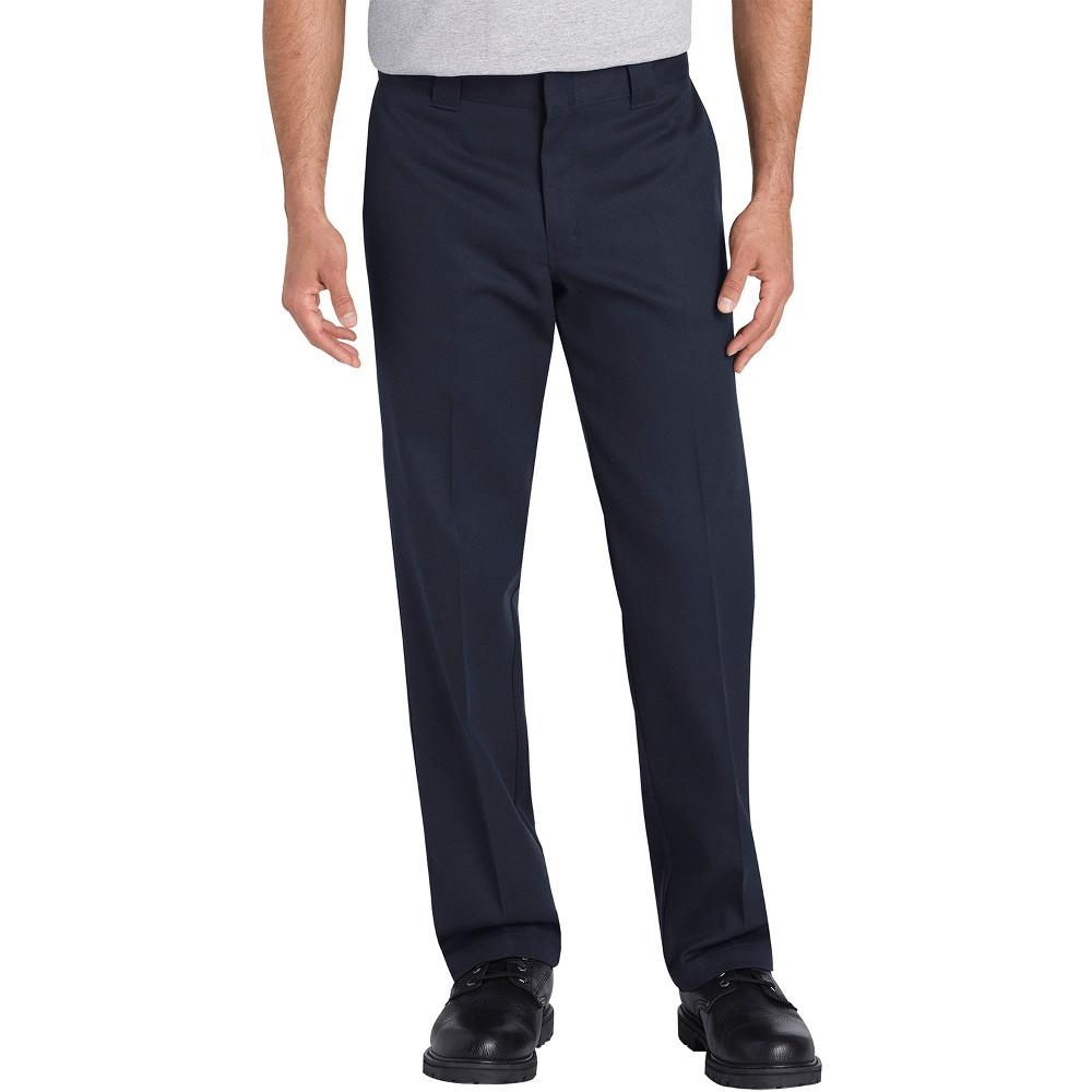 Dickies Men's Big & Tall Flex Slim Tapered Pants - Navy (Blue) 48x30