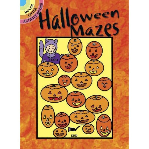 Halloween Mazes - (Dover Little Activity Books) by  Suzanne Ross (Paperback) - image 1 of 1