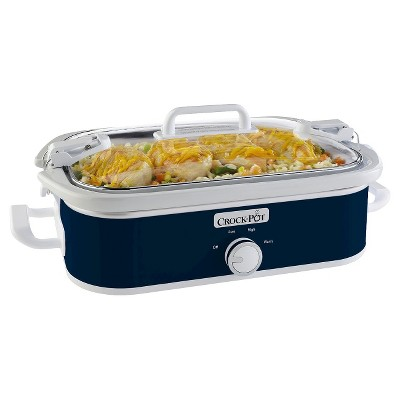 Crock-Pot 3.5 Qt. Casserole Crock Slow Cooker - Blue SCCPCCM650