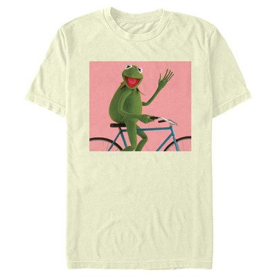 Men's Disney Muppets Kermit Bike Wave T-Shirt