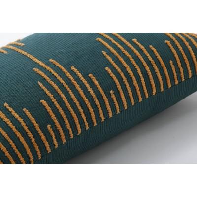 Linear Geo Throw Pillow Teal - Pillow Perfect : Target