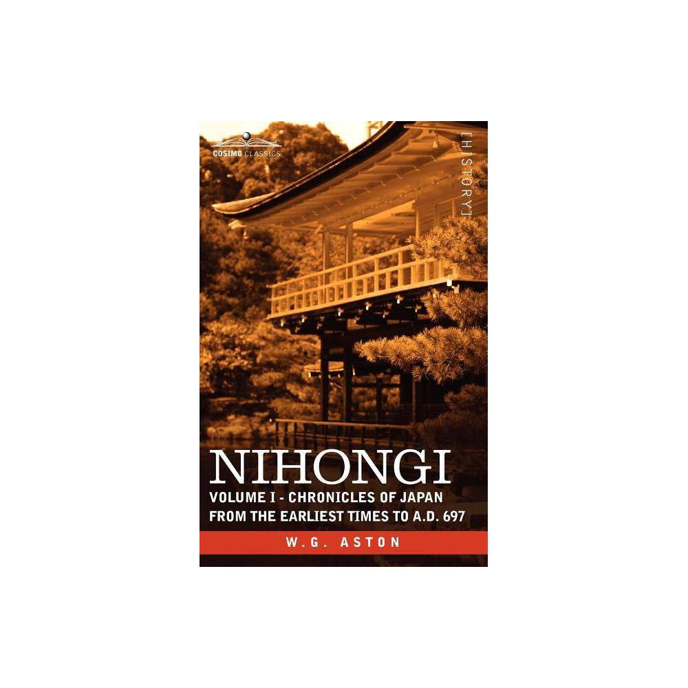 Nihongi By W G Aston Paperback