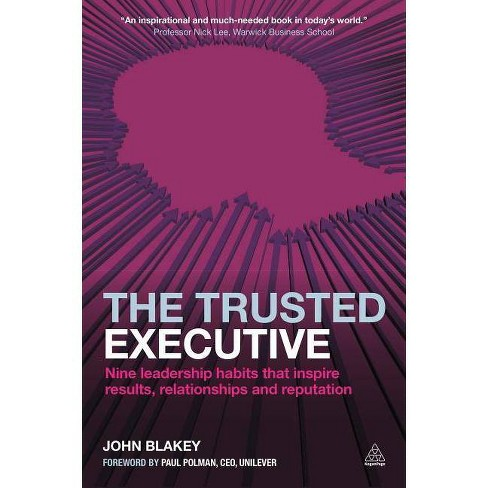 The Trusted Executive - by  John Blakey (Paperback) - image 1 of 1