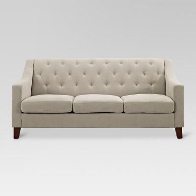 Felton Tufted Sofa Taupe - Threshold™