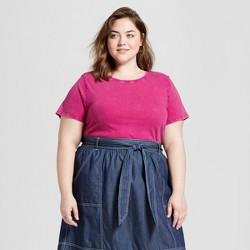 5a344531b Women's Plus Size Meriwether Crew Neck Short Sleeve T-Shirt - Universal  Thread™