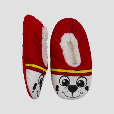 toddler-boys-paw-patrol-fuzzy-babba-slippers---white by nickelodeon