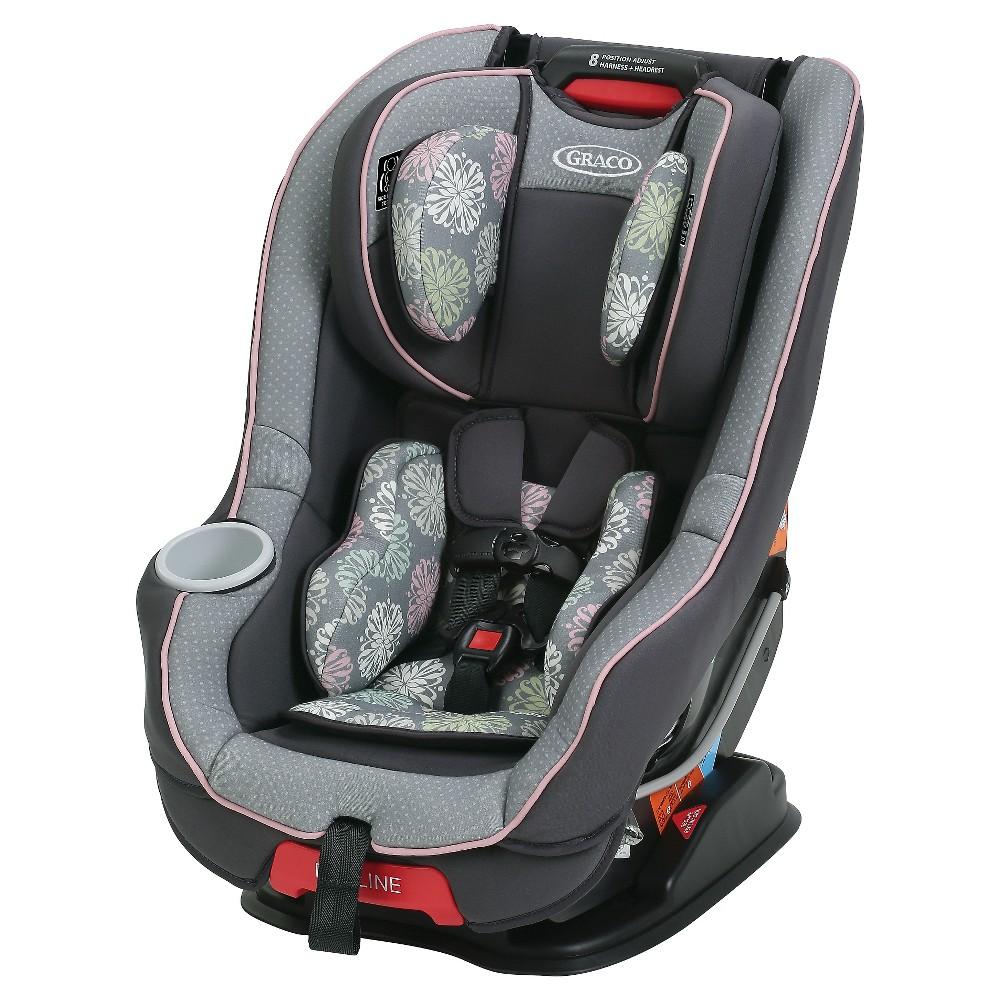 Graco Size4Me 65 Convertible Car Seat featuring Rapid Rem...