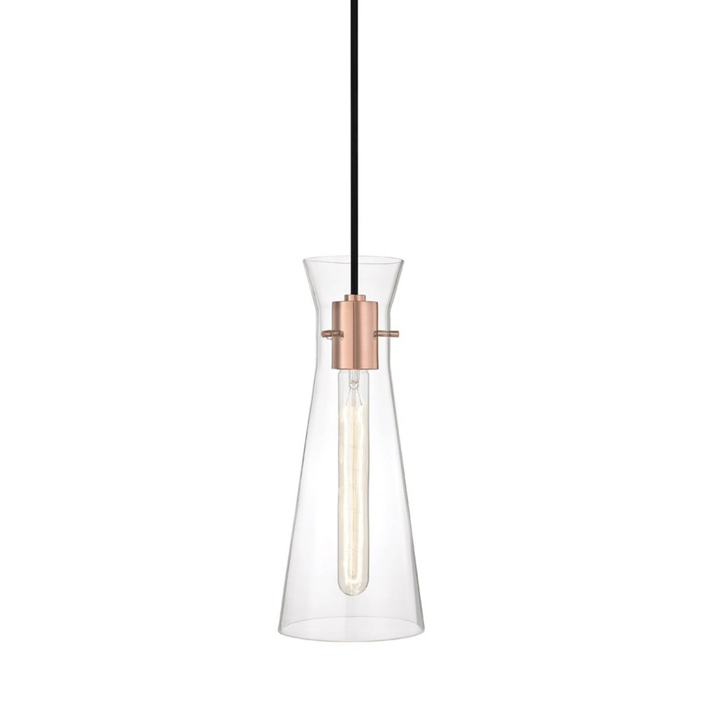 Anya 1-Light Pendant Chandelier Polished Copper - Mitzi by Hudson Valley Coupons