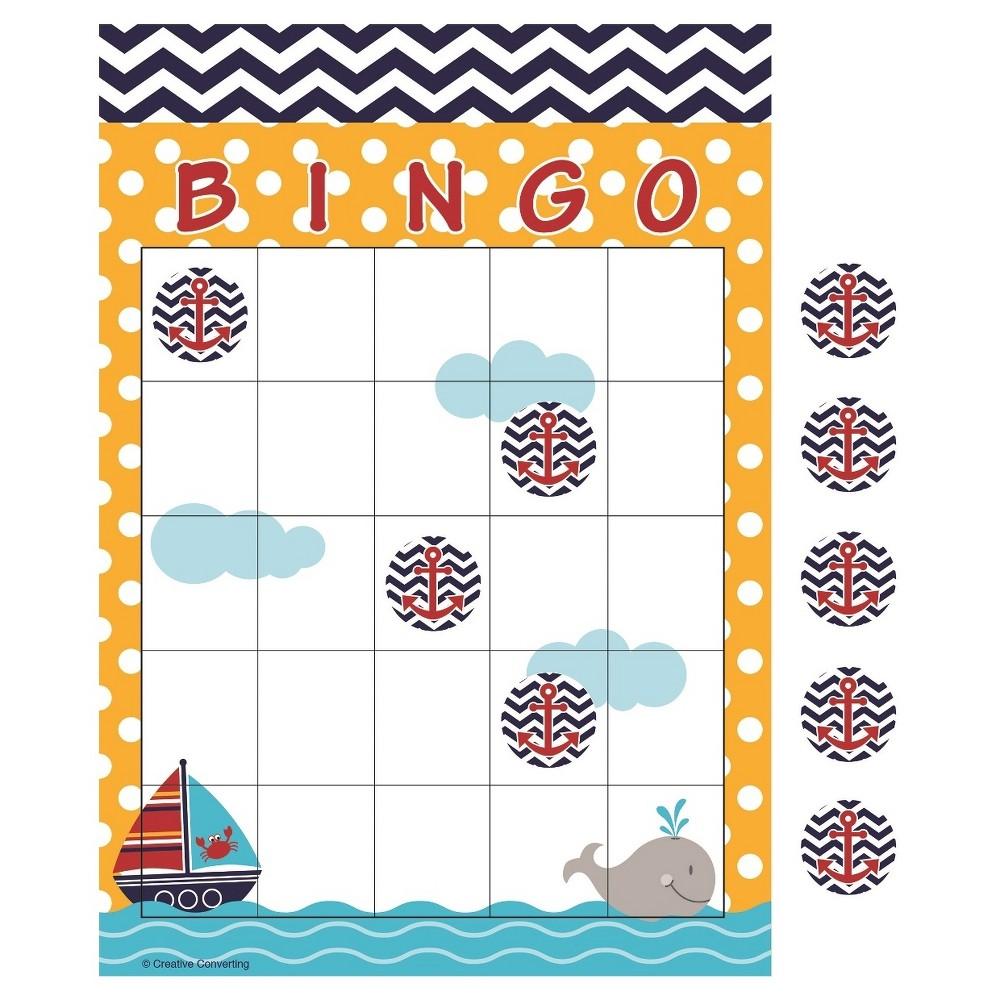 Image of 10ct Ahoy Matey! Bingo Game Activity Set